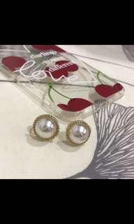 🚚 珍珠耳環  夾式