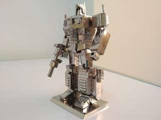 #MakeSpaceForLove Optimus Prime 3D Metal Model (Ready Assembled)