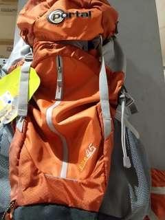 Backpack 40L brand portal
