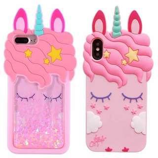 Unicorn Glitter Case