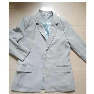 NEW Tiffany blue blazer