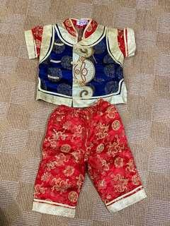 🚚 Boy Chinese New Year CNY clothes set