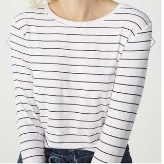 Striped Top (Red & White)