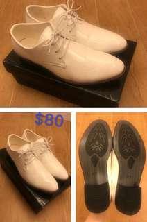 新郎休闲鞋/ 白色禮服鞋/婚後物資
