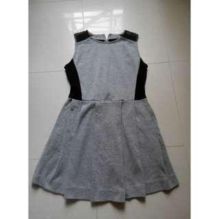 Stylish grey dress S-M size