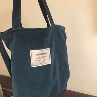🚚 兩用斜背手提祖母綠包(原價390元) #半價衣服市集
