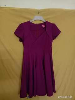 Glitter Glam Purple Dress