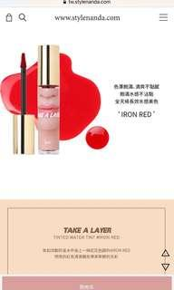 3ce TAKE A LAYER TINTED WATER TINT #IRON RED
