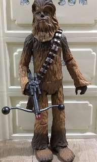 """Stars wars Chewbacca 15.5"""" 丘巴卡 朱兒"""