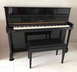 Yamaha M112T PE Upright Piano