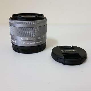 Canon EFM 15-45mm STM