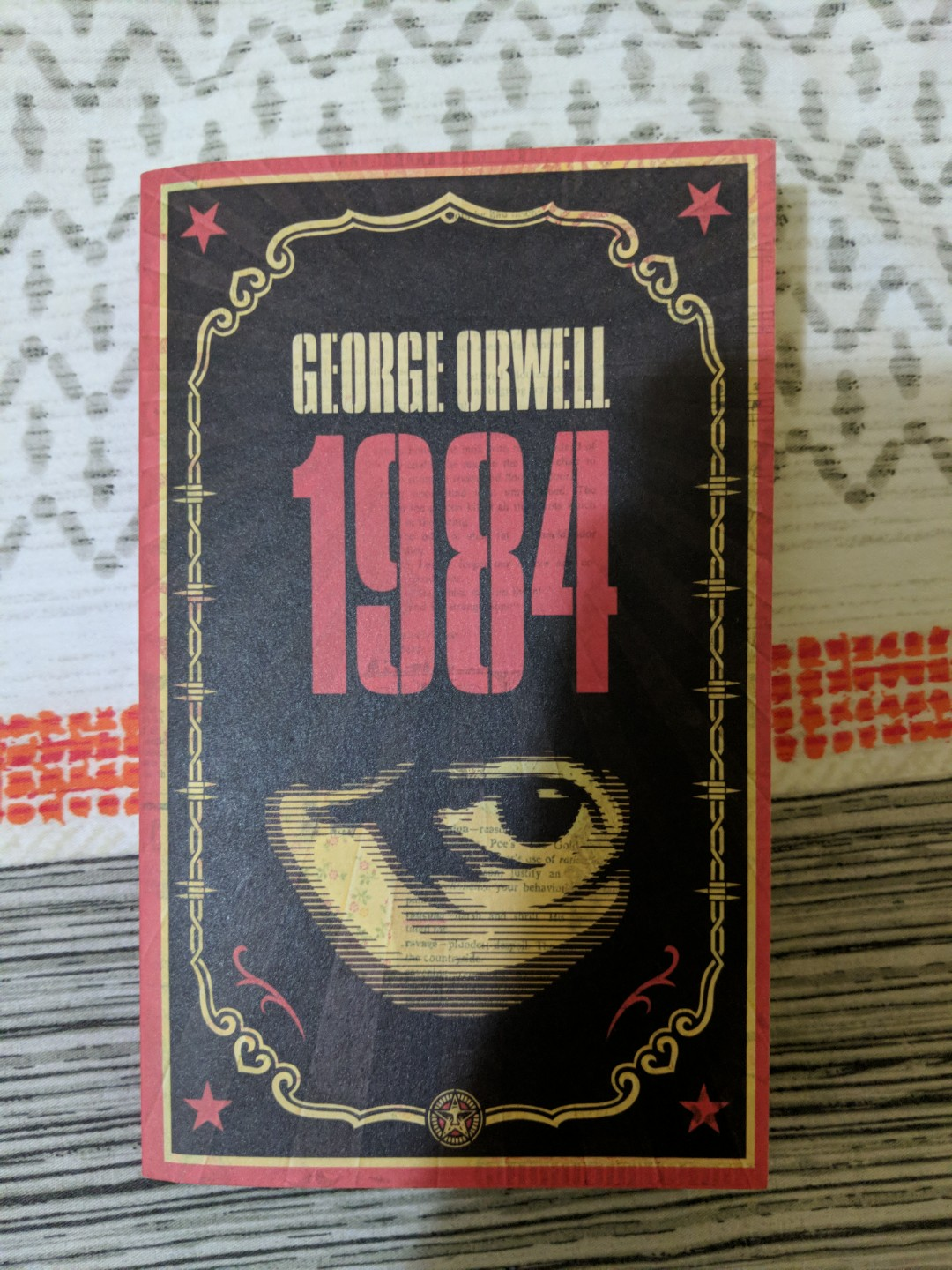 1984 George Orwell Books Stationery Fiction On Carousell