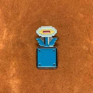 🚚 (Enamel Pin) Super Mario Bros 8-bit Flower