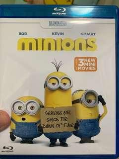 Minions Blu-ray 藍光影碟