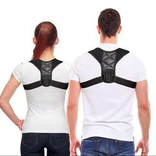 🚚 Adjustable Back Posture Corrector Clavicle Spine Back Shoulder Lumbar Brace Support Belt Posture Correction Prevents Slouching