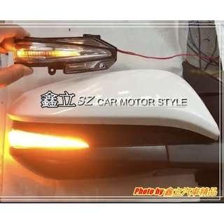 ※ 鑫立汽車精品 ※ RAV4 13-17年 高亮度 直線款 LED 流水 跑馬 後視鏡 後照鏡 燈條 後照鏡燈條