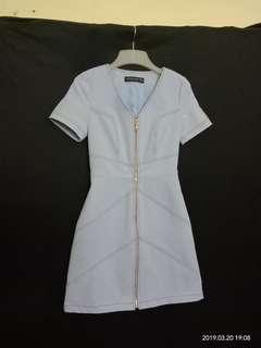 Joyce Couture Denim Inspired Dress