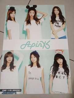 Apink Hard Poster
