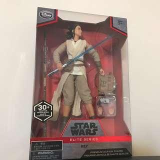 "Star Wars Disney 10"" Rey 絕版"