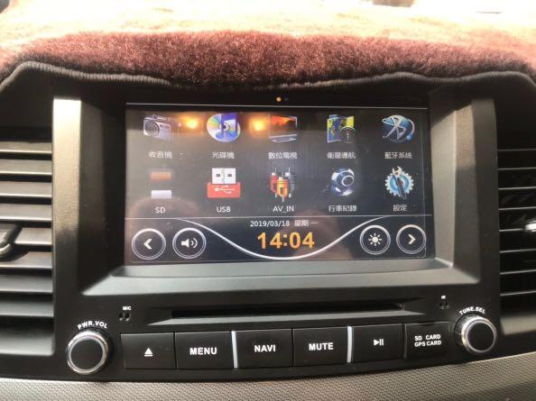 2011年Mitsubishi Fortis (Io版)里程保證 全車原版件 多功能電視