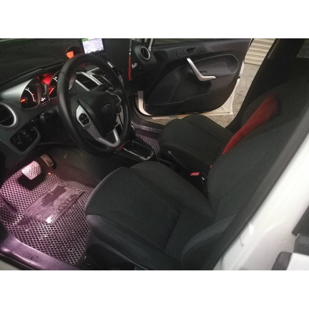 2012年 福特 Fiesta 5D 運動改裝版
