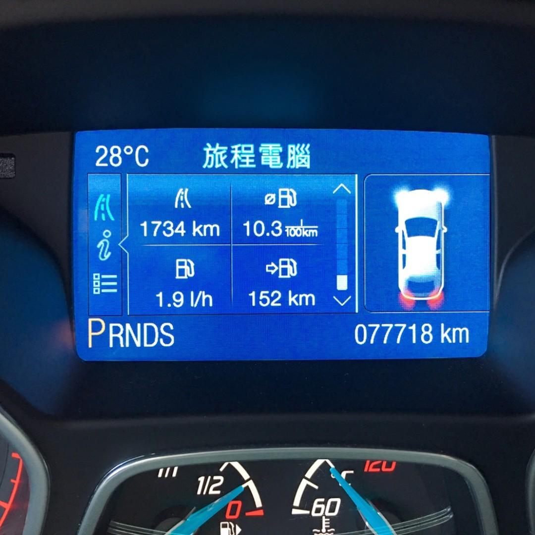 2014年  FOCUS  2.0 只跑7萬公里   有天窗