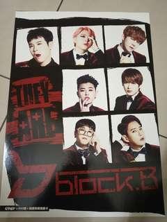 Block B Hard Poster