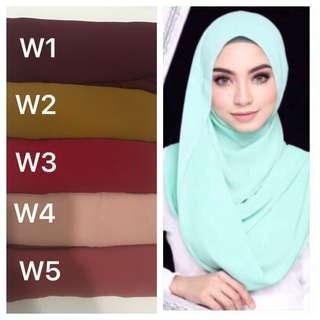 🚚 Instant Shawl Tudung hijab