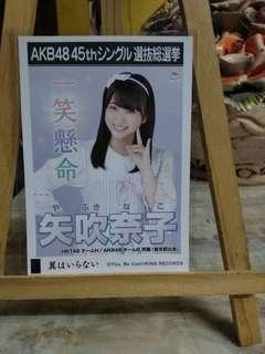 HKT48/IZ*ONE Yabuki Nako Official Photopack-AKB48 45th Single Senbatsu Sousenkyo