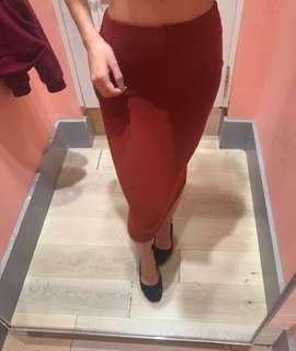 Forever 21 (L) Ribbed Skirt