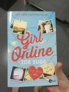 Girl Online by Zoe Sugg Hard Cover 100% ori