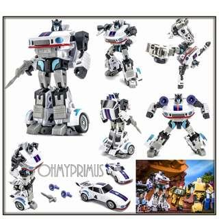 [Pre-order] Newage NA Toys H2 Manero - Transformers Legends Scale Jazz