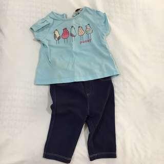 Poney shirt & jeans