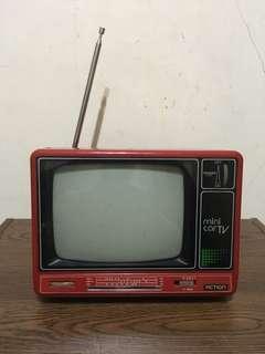 早期古董5吋小電視