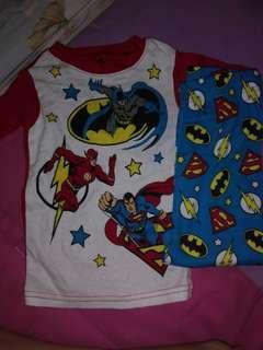 🚚 CLEARANCE-Justice league pyjamas set