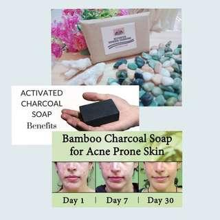 Activated Bamboo Charcoal Soap 100g