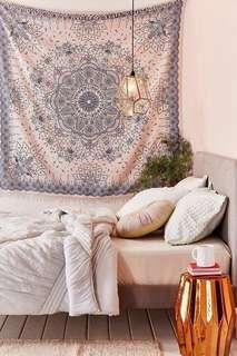 🚚 Urban Outfitters Emilia Medallion Fringe Tapestry