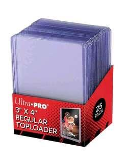 Top Loaders - Ultra Pro (Sealed - 25 pcs in a pack)