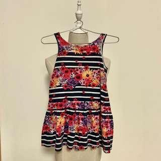 (Preloved) H&M cotton dress for 2-4 yo