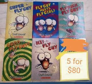 Fly guy Tedd Arnold scholastic Books