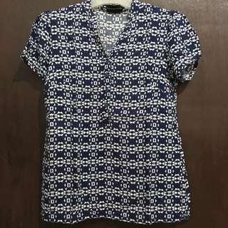 Blouse Biru The Executive