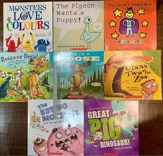 Books for early readers (set of 8)