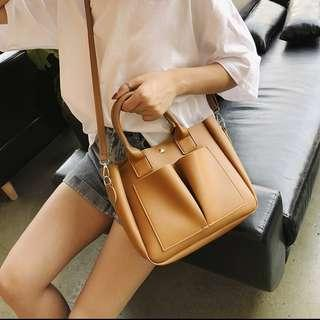 🚚 PO Crossbody Leather Bag