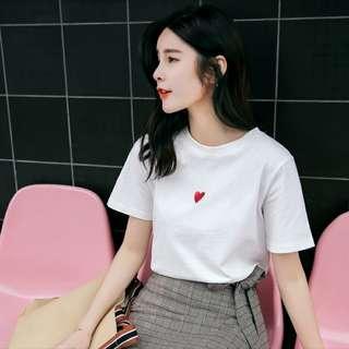 Korean Heart Ulzzang Shirt