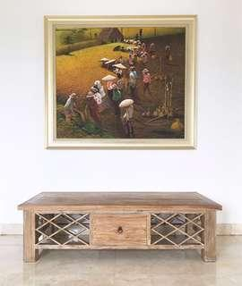 Meja Buffet TV / Ruang Tamu / Living Room (Custom Made Bali)