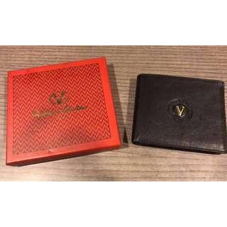 Giovanni Valentino Classic Vintage Men's Wallet Italy GV Leather Purse