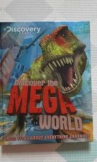 Discovery channel Discover the Mega World hardcover book