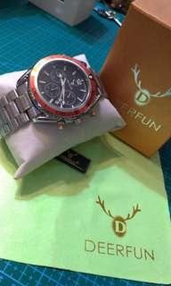 Deer Fun planet ocean chronograph