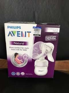 🚚 Natural breast pump manual
