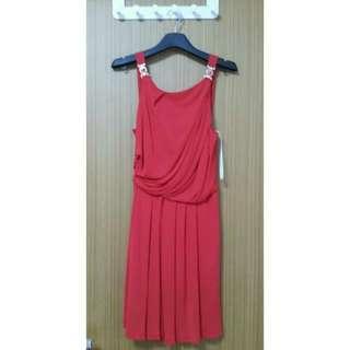 🚚 Versace Red Dress